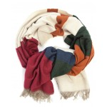 Horseware Oversize Blanket Scarf Gingerbread Stripe