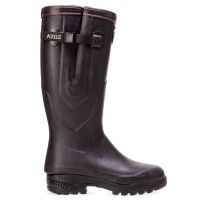 Aigle Parcours 2 ISO Neoprene Lined Wellingtons Unisex Brown