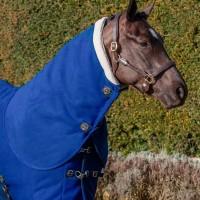 Le Mieux Four Seasons Neck Cover Benetton Blue