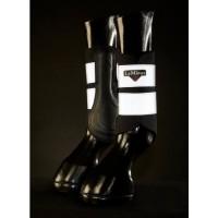 Le Mieux Hi-Visibility Brushing Boots Black