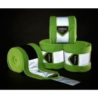 Le Mieux Hi-Visibility Polo Bandages Lime Green PONY Size